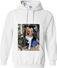 Load image into Gallery viewer, CLHOODIE-WHITE-FRONT-2269