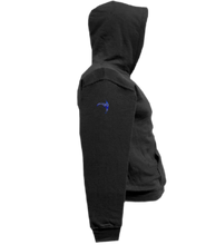 Load image into Gallery viewer, CLHOODIE-BLACK-RIGHTSLEEVE-917