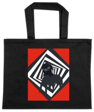 Load image into Gallery viewer, TOTE-BLACK-FRONT-1142