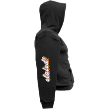 Load image into Gallery viewer, CLHOODIE-BLACK-RIGHTSLEEVE-4535
