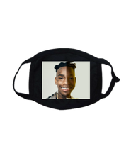 Load image into Gallery viewer, FMASK-BLACK-FRONT-2163