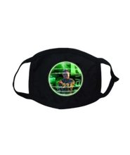 Load image into Gallery viewer, FMASK-BLACK-FRONT-2117