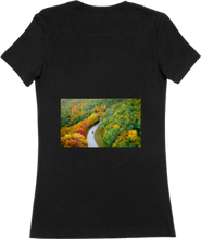 Load image into Gallery viewer, WOMTEE-BLACK-BACK-988
