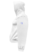 Load image into Gallery viewer, CLHOODIE-WHITE-LEFTSLEEVE-917