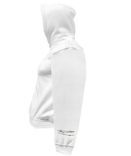 Load image into Gallery viewer, CLHOODIE-WHITE-LEFTSLEEVE-1362