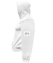 Load image into Gallery viewer, COHOODIE-WHITE-LEFTSLEEVE-1614