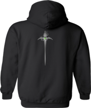 Load image into Gallery viewer, CLHOODIE-BLACK-BACK-2731