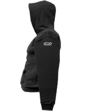 Load image into Gallery viewer, CLHOODIE-BLACK-LEFTSLEEVE-2169