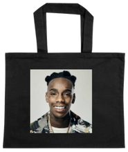 Load image into Gallery viewer, TOTE-BLACK-FRONT-1383