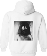 Load image into Gallery viewer, Melt Face (white hoodie)