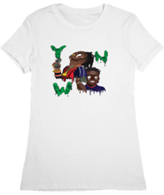 Load image into Gallery viewer, WOMTEE-WHITE-FRONT-1016