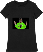 Load image into Gallery viewer, WOMTEE-BLACK-FRONT-1571