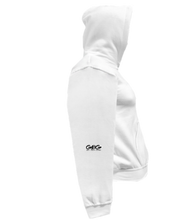 Load image into Gallery viewer, CLHOODIE-WHITE-RIGHTSLEEVE-2289