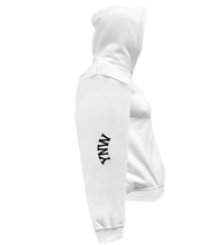 Load image into Gallery viewer, CLHOODIE-WHITE-RIGHTSLEEVE-2210