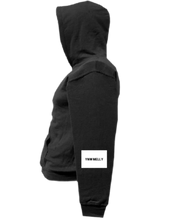 Load image into Gallery viewer, COHOODIE-BLACK-LEFTSLEEVE-1848