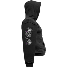 Load image into Gallery viewer, CLHOODIE-BLACK-RIGHTSLEEVE-2570
