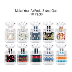 Apple AirPods Protective Skin Wrap - 10 Pack