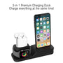 3-in-1 Charging Dock for AirPods & Apple Watch & iPhone