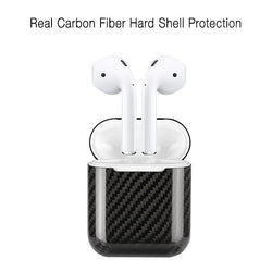 Real Carbon Fiber Ultra Thin Case Protector for Apple AirPods
