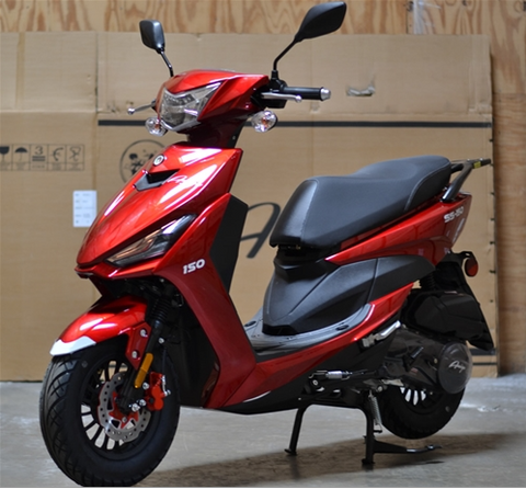 ss150 scooter moped