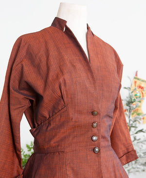 1950s Tailored Junior Blouse Jacket
