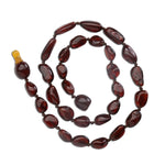 Amber Teething Necklace - Dark Cherry Polished (ATNP-Dark Cherry)