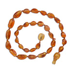 Amber Teething Necklace - Honey Polished (ATNP-Honey)