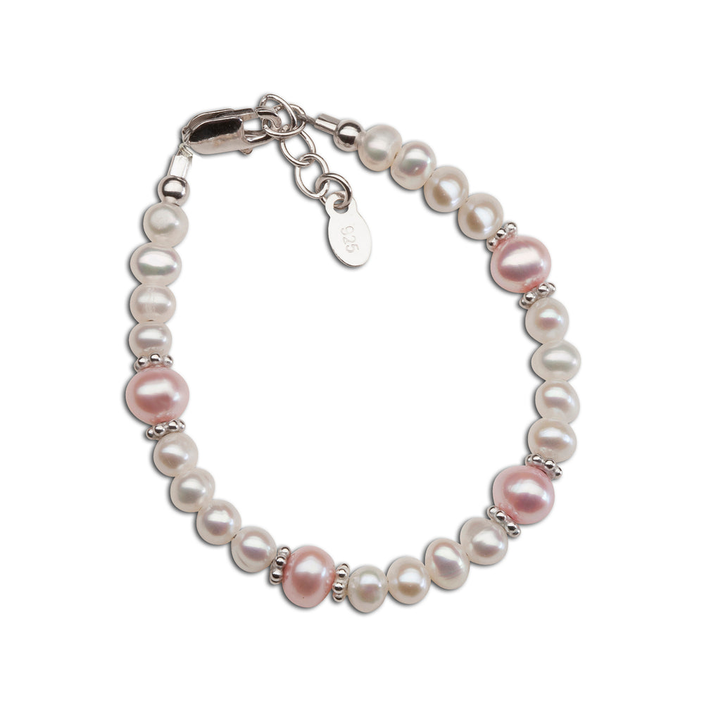 Sterling Silver New Arrival Baby Bracelet Gift (NBB-01F)