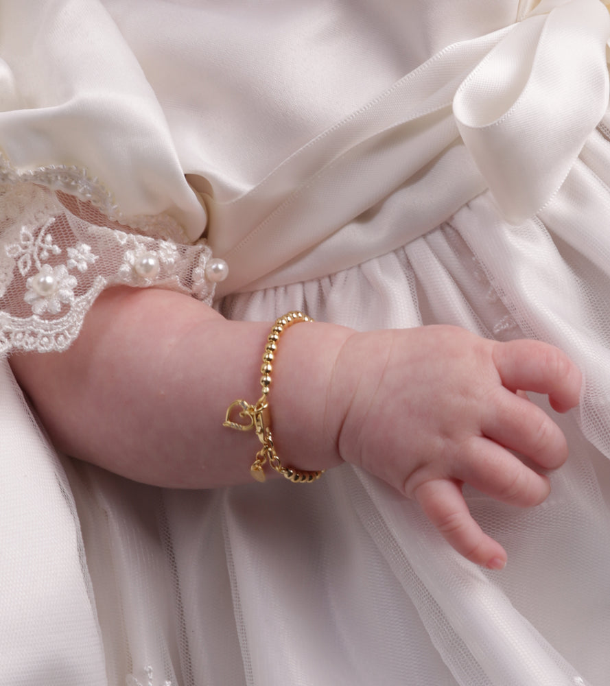 14K Gold Baby Bracelet for Infants and Babies