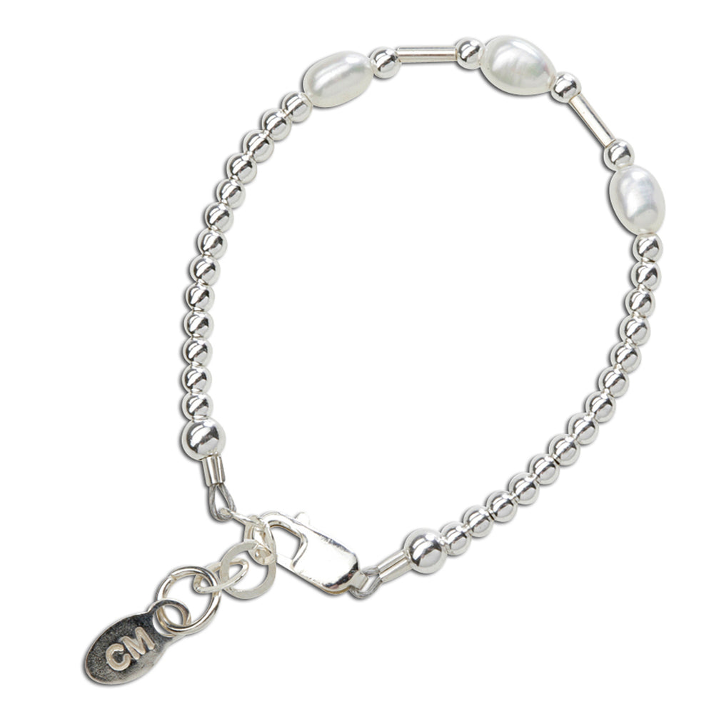 children's sterling silver baby bracelet