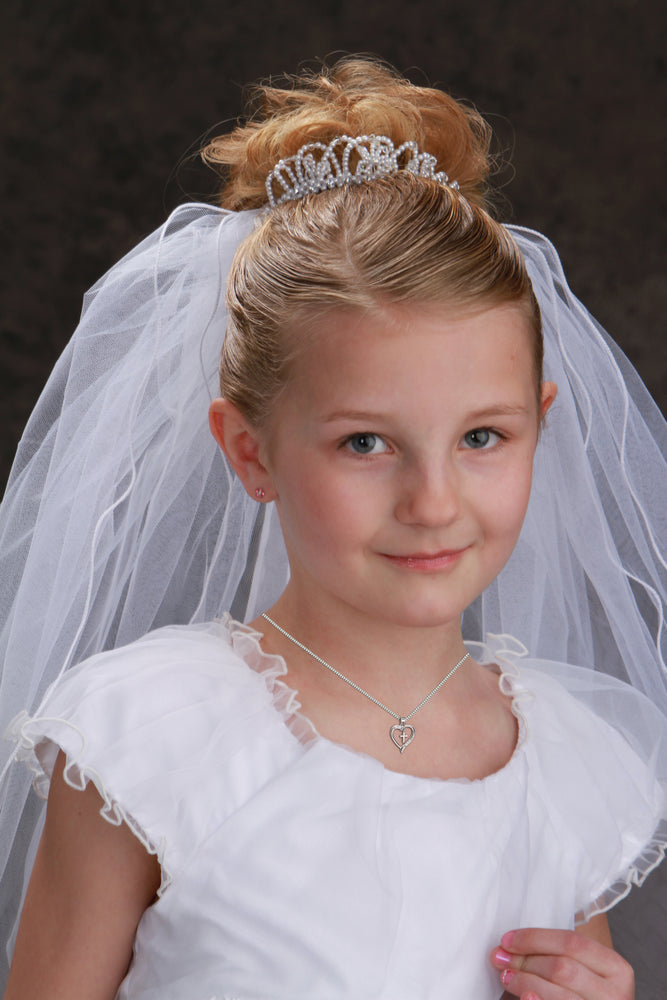 First Communion Necklace for Girls