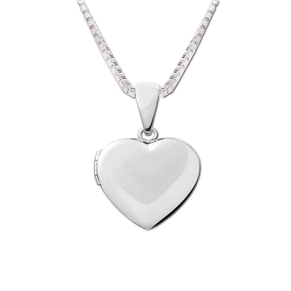 Girls Sterling Silver Heart Locket for Children