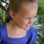 Sterling Silver Children's Pearl Necklace (BCN-Pearl)