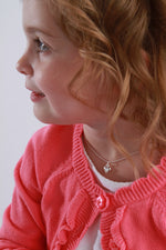 Sterling Silver Children's Puff Heart Necklace (BCN-Puff Heart)
