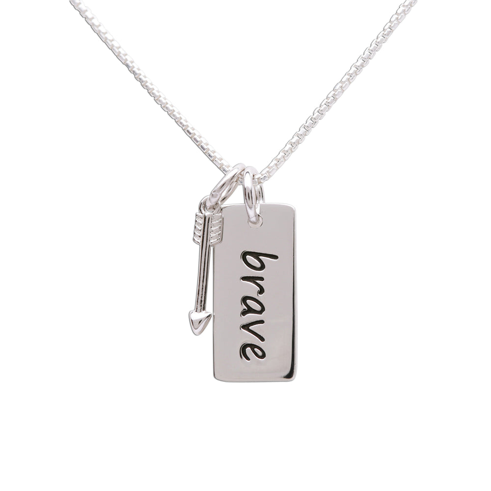 Load image into Gallery viewer, Sterling Silver Brave Necklace (BCN-SS-Brave)