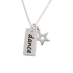 Sterling Silver Children's Dance Necklace (BCN-SS-Dance)