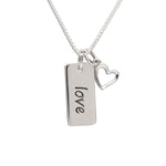 Sterling Silver Love Necklace (BCN-SS-Love)