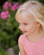 Little Girls Flower Girl Necklace