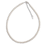 Sterling Silver Pearl Necklace (BN-Zoey)