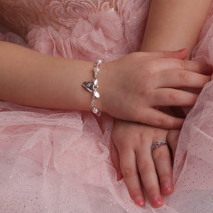 Sterling Silver Tiara Baby Ring with CZs (BR-72-Tiara)