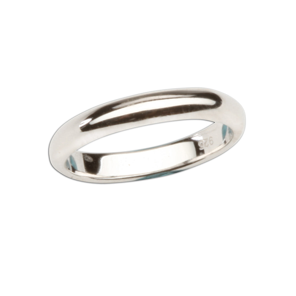 Sterling Silver Baby Ring - 2mm Silver Band (BR-RP502)