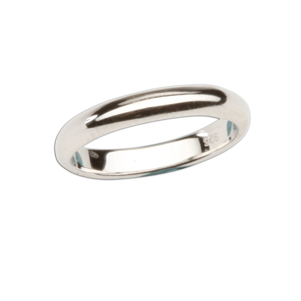 Timeless Sterling Silver Baby Ring - 2mm Silver Band (TCR-RP502)