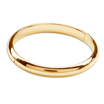 GP-Bangle (Classic) - 14K Gold Plated Bangle Bracelet