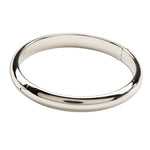 Sterling Silver Baby Bangle Bracelet (TC-Anna)