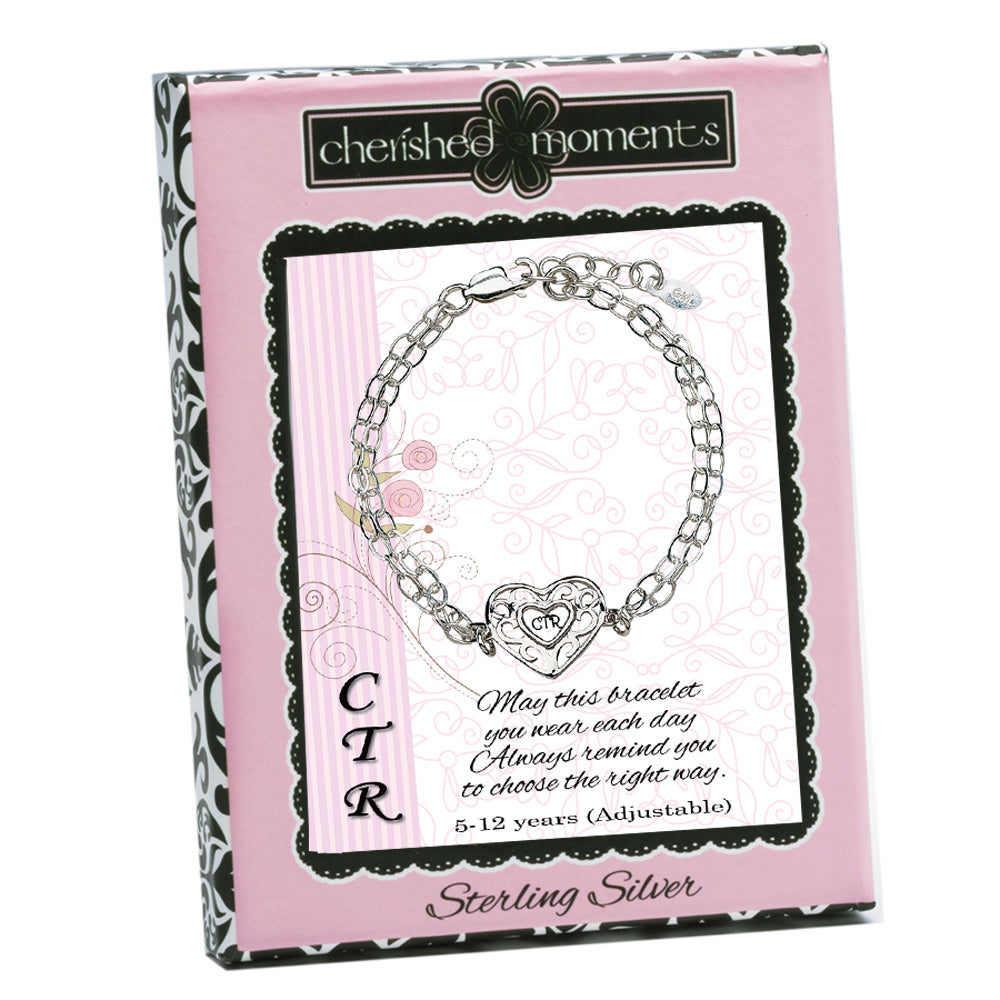 CTR Bracelet with Silver Heart (CTRB-HSC)