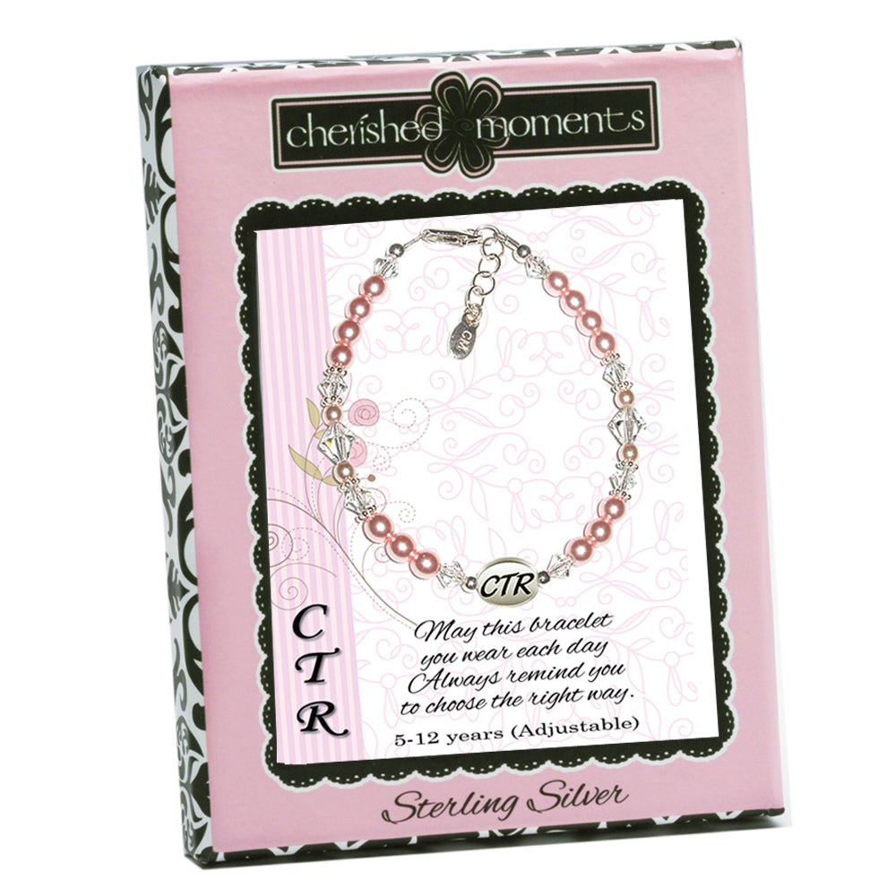 Load image into Gallery viewer, CTR Bracelet Pink Pearl (CTRBPP-08)