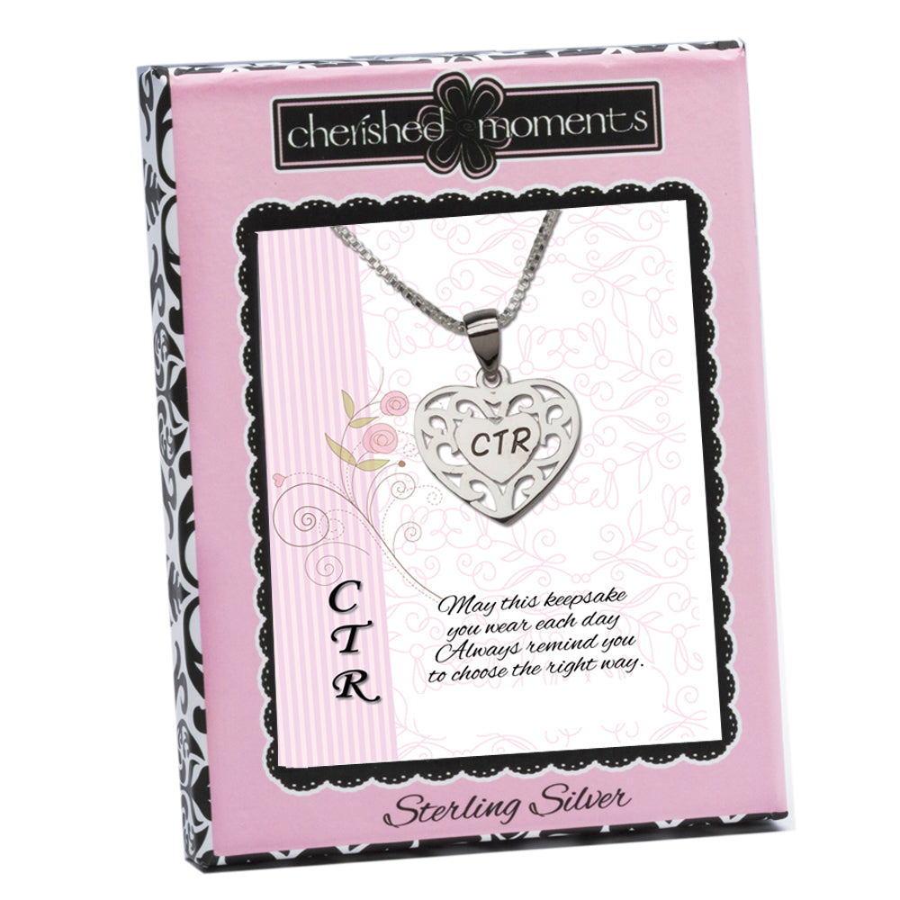 CTR Necklace with Heart (CTR-BCN-14)