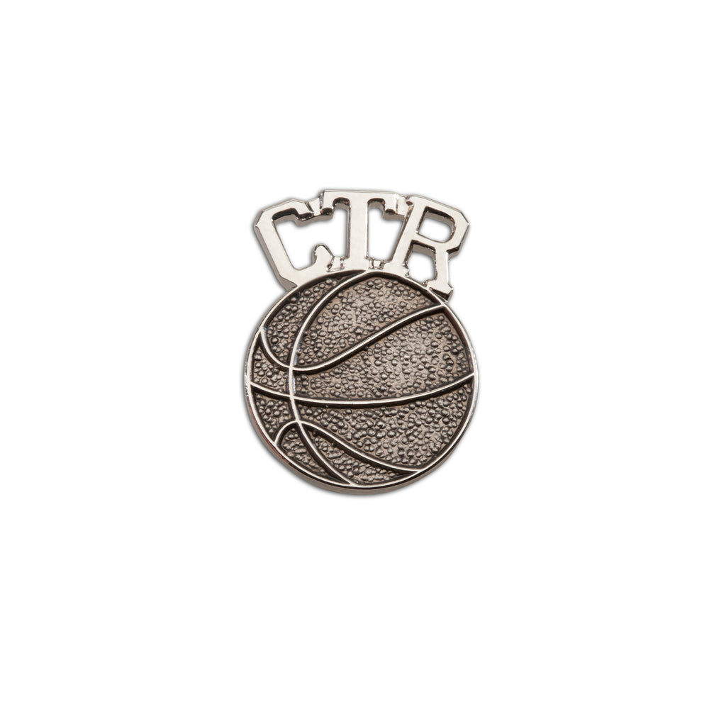 CTR Basketball Tie Pin (CTR-BKT)