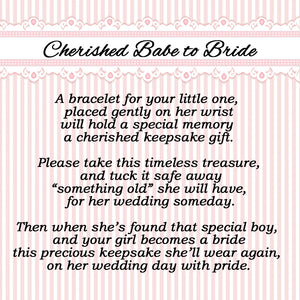 Cherished Babe to Bride Sterling Silver Cross Bracelet (TC-Baby-B-Girl-Cross)