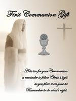 First Communion Chalice Tie Pin (FCTP-Silver)